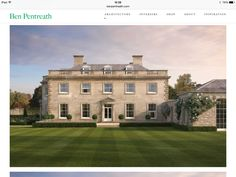 A new house in Wiltshire - Ben Pentreath Ltd Georgian Architecture, Classical Architecture, Architecture Design, Landscape Architecture, English Manor Houses, English House, Georgian Homes, Mansions Homes, Country Estate
