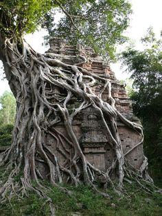 Sambo Prey kuk Temples in Cambodia, 7th Century.