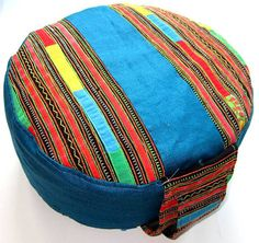 Meditation Cushion Yoga Durga Cushion ZAFU  & by bonjourtristeza, $69.00