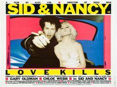 Sid & Nancy (Alex Cox, 1986) UK quad design
