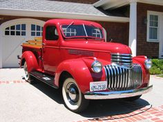 Search - Classic Cars / Car Projects / Car Shows 1946 Chevy Truck, Chevy Pickup Trucks, Classic Chevy Trucks, Gm Trucks, Chevrolet Trucks, Classic Cars, Hot Rod Trucks, Cool Trucks, C10 For Sale