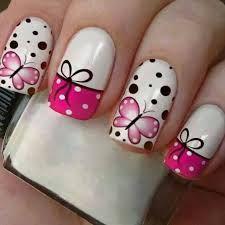 Resultado de imagem para unhas decoradas com borboletas Sculpted Gel Nails, Menta Chocolate, Manicure Y Pedicure, New Nail Art, Cute Nail Designs, Flower Nails, Nail Artist, Swag Nails, Toe Nails