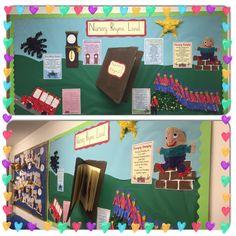 Nursery rhyme display More