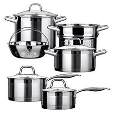 Duxtop stainless steel cookware