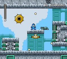 Megaman Unlimited 1.2.0 - Megaman Unlimited is a Megaman fan-game in the classic 8-Bit NES style both in sound and visuals. It is similar to Megaman 3 and Megaman 9-10 in design philosophy. MMU is made by fans for fun. It is not related to the official series' canon. (click image to download from OlderGeeks.com)  #videogames #retrogaming #computergames