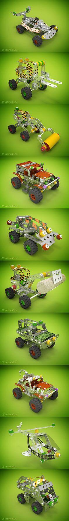modeling, rendering, blender, blender3d, 3D, toys