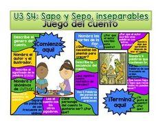 Sapo y Sepo Inseparables  Calle de la lectura  Reading Street Grade 1 Spanish