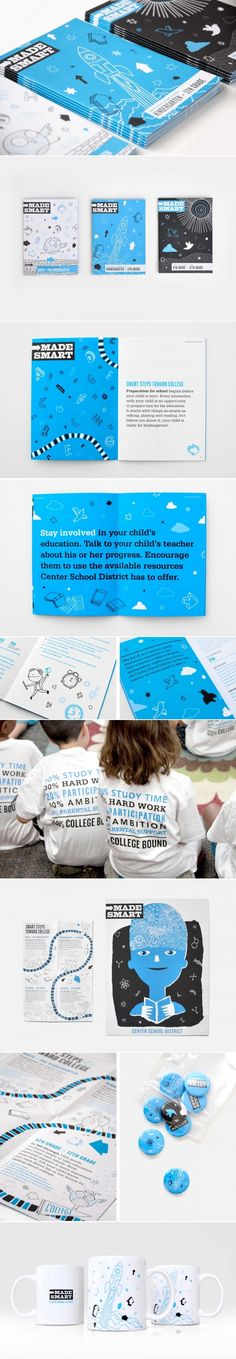 Center Friends School District | Branding, Copywriting, Design, Illustration, Marketing Materials, Website | Design Ranch