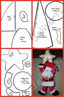 moldes natal - Her Crochet Christmas Stocking Pattern, Christmas Sewing, Christmas Art, Christmas Projects, Christmas Stockings, Diy Projects Handmade, Felt Christmas Decorations, Christmas Crafts, Christmas Ornaments