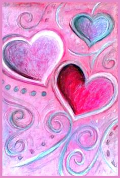 ♥Friendship is contagious.Share Love ❤️ ✿ڿڰۣ ♥NYRockPhotoGirl ❤️ Love is… I Love Heart, Happy Heart, Heart Painting, Paint And Sip, Heart Wallpaper, Paint Party, Heart Art, Heart Shapes, Canvas Art