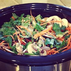 Slow Cooker Chicken Kale and Veggie Delight | Recipes | Beyond Diet