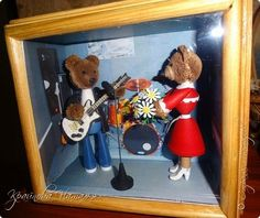 3D-квиллинг. Мишка-гитарист | Страна Мастеров