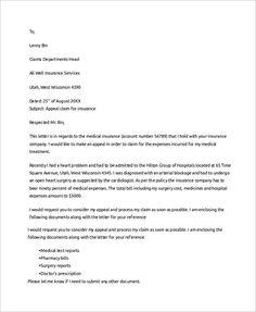 application letter for car insurance claim