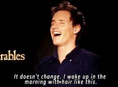 He's such a little cutie, never stop being adorable and crazy-eyed - sirredmayne gifs - sirredmayne you're the best!!!