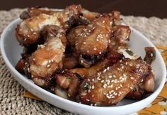 Asian Flavors and Sesame Seeds Make These Chicken Wings Delicious: Sesame Chicken Wings