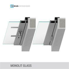Interior doors Monolit are characterized by the door jamb which
