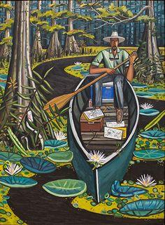 """""""Southern Masters: David Bates,"""" Garden & Gun - Arthur Roger Gallery"""