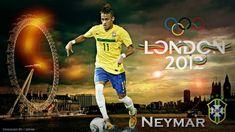 Neymar Brazil Olympic 2012 HD Best Wallpapers