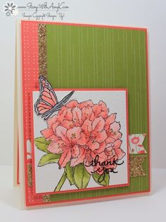 by Amy: Best Thoughts (host), Endless Thanks, Pretty Petals dsp stack, & more - all from Stampin' Up!