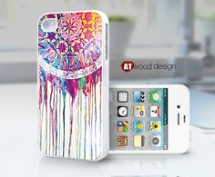 Dream Catcher unique iphone 4 case iphone 4s case by Atwoodting, $13.99