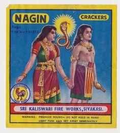 Indian Firecracker Label Vintage India, Vintage Ads, Old Advertisements, Advertising, Fire Works, Matchbox Art, Indian Prints, Firecracker, Vintage Branding
