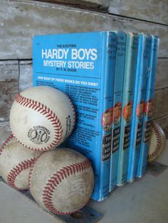 Baseball Vintage Book Ends by RedefineA2ndTime on Etsy, $34.00