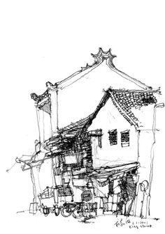 Chin Si Tong Soo, King Street by Ch'ng Kiah Kiean