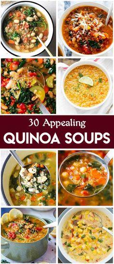 30 Appealing Quinoa Soups – Easy Family Recipes