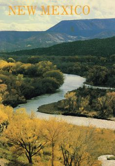 Postcards | Chama River Valley, New Mexico