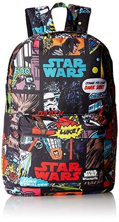 7c4e3361df1 Star Wars Comic Book Panel Backpack Bags For Teens