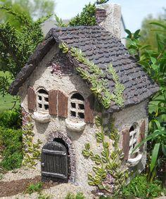 Look at this #zulilyfind! Ivy Fairy House Garden Figurine by Wholesale Fairy Gardens #zulilyfinds