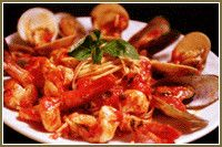 seafood and pasta recipe by Christinis, One of the best restaurants in orlando