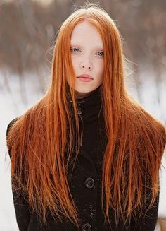 Red hair photography - Retouching hair in Photoshop Straight Red Hair, Long Red Hair, Blue Hair, Natural Red Hair, Natural Redhead, Natural Hair Styles, Long Hair Styles, Beautiful Red Hair, Beautiful Redhead