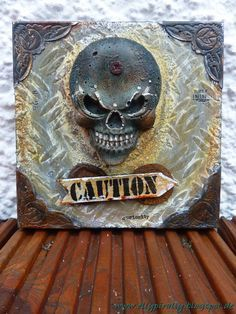 Mixed Media and more: Caution - Concrete
