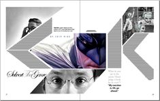 Dildhar Miah - The Works: Subvert The Genre - Chip Kidd Interview - Magazine Layout