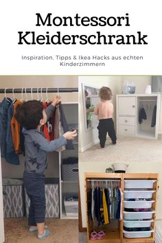 Ikea Montessori, Montessori Bedroom, Baby Zimmer, Home And Deco, Girl Room, Kids Bedroom, Nursery, Children, Ikea Hacks