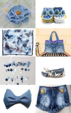 A BIT LIKE DENIM by Vickie Wade on Etsy--Pinned+with+TreasuryPin.com