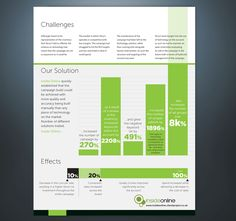 Client Case Study Pdf Template Design We Have A In Word Doent That Wish To Be Designed Into Visually Ealing