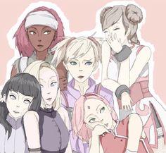 naruto girls | Tumblr