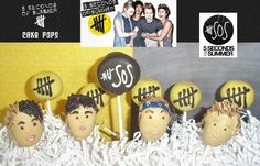 5 Seconds of Summer Gourmet Chocolate Covered by AuntKeensKandy, $19.99