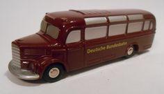 Schuco Piccolo Mercedes Benz 0 3500 Bus Deutsche Bundesbahn