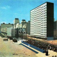 El Conjunto Urbano Nonoalco-Tlatelolco    Arq. Mario Pani, 1964