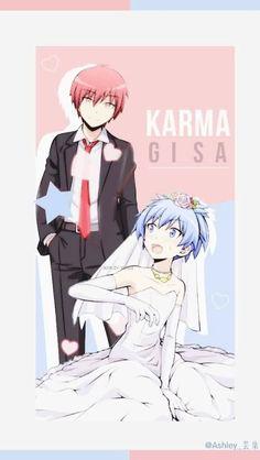 Karma x Nagisa wallpaper Karma Y Nagisa, Karma Kun, Anime Classroom, Neji E Tenten, Nagisa Shiota, Animes Yandere, Anime Crossover, Anime Shows, Animes Wallpapers