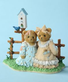 This Sister Bears Figurine by Cherished Teddies is perfect! #zulilyfinds
