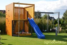 "Modern Landscape Ideas, Designs malkul Garden ideas for kids"" play www. Modern Playhouse, Garden Playhouse, Diy Playhouse, Playhouse Outdoor, Modern Backyard, Backyard For Kids, Modern Landscaping, Cubby Houses, Play Houses"