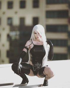A2 from Nier: Automata by @katyuskamoonfox : cosplaygirls