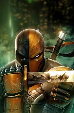 Batman & The Dark Knights of Gotham — Deathstroke V Batman by Mystic-Oracle