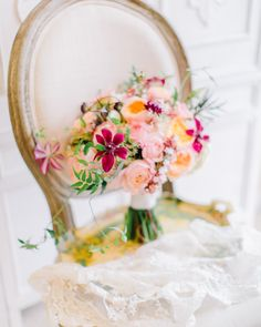 Clematis bouquet from Amore Events by Cody | Rachel May Photography