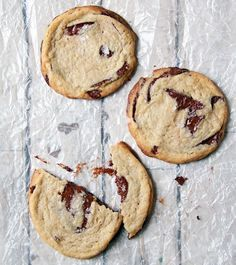 Salted Tahini Chocolate Chip Cookies from 'Modern Israeli Cooking'
