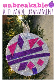 We did this 5 years ago and it's still in great condition and goes on our tree every year. Great ornament craft for kids .
